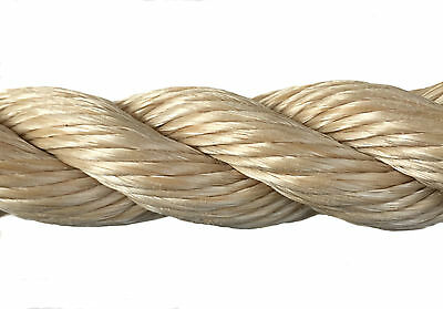 Rope - 32 mm Synthetic Sisal,Sisal,Sisal For Decking,Garden & Boating, x 15mts 3