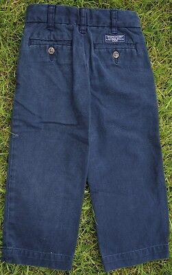 Polo Ralph Lauren Navy Boys Chino Jeans Elastic Adjustable Waist Age 18 Months 3
