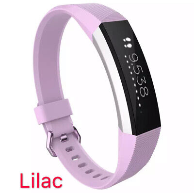 Replacement Band Fitbit Alta HR Silicone Wrist Watch Band Secure Buckle 10