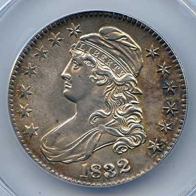 1832 Capped Bust Silver Half Dollar. ANACS Graded AU 58 Details. Lot #2547 2