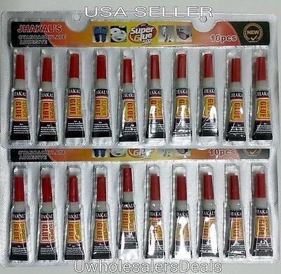 Super Glue - 'Cyanoacrylate Adhesive' 50 Tubes - FREE SHIPPING 4