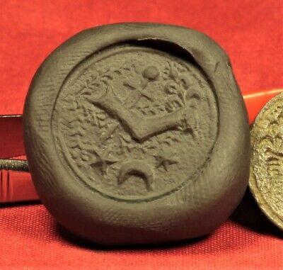 Rare Medieval Knight's Seal Matrix - 13. Century - Arm and Sword 3