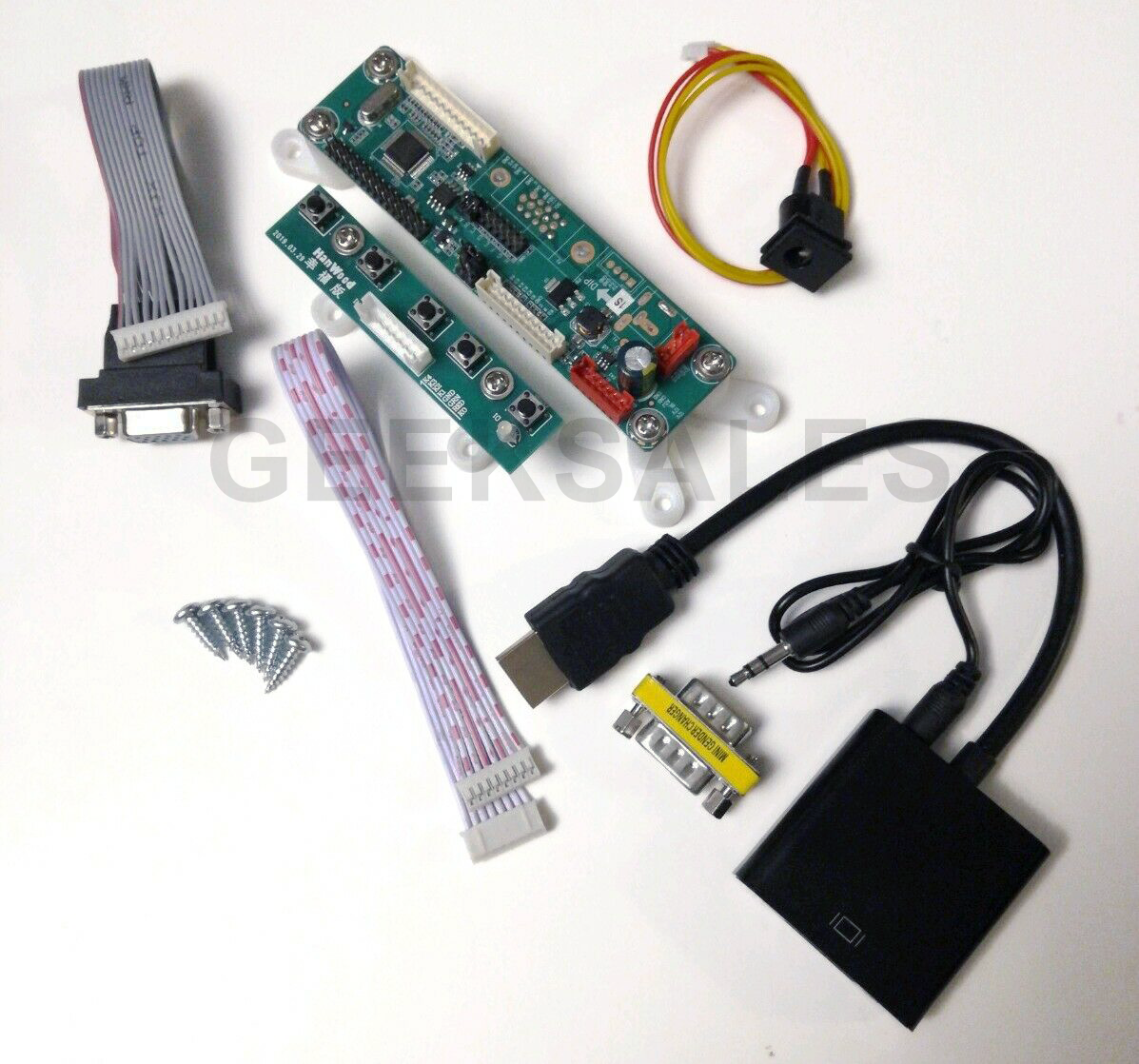 """Arcade1Up LCD Video Driver Converter Board, adds HDMI & VGA input to 17"""" Monitor 4"""