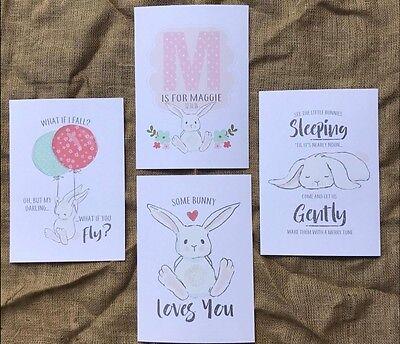 bunny rabbit BABY WARDROBE DIVIDERS Newborn - 1 Year SHOWER gifts organisers 6