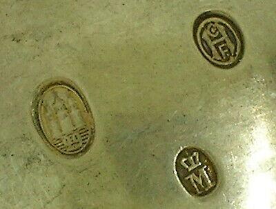 """Rare Denmark A. Michelsen Commemorative Spoon May 15, 1912 - 6"""" Long -48.3 Grams 8"""