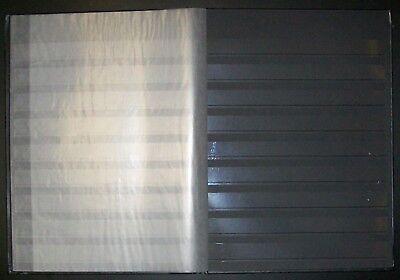 New Lighthouse 64 Black Page Stockbook - Album