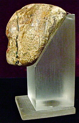 Pre-Columbian STONE MASK CHONTAL GUERRERO MEXICO EX: SOTHEBY'S 1977 4