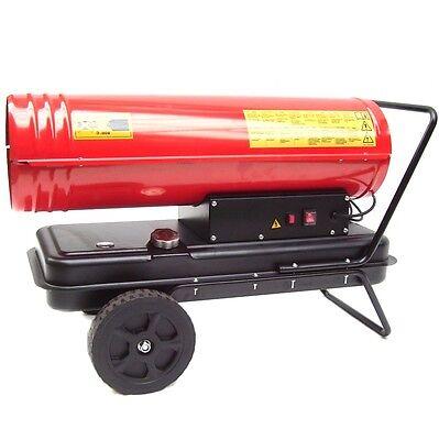 55197 Générateur air chaud à gasoil ou fioul 30KW Canon mazout chauffage Neuf