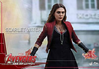 Hot Toys 1/6 Marvel Avengers Mms301 Scarlet Witch Wanda Maximoff Action Figure 6