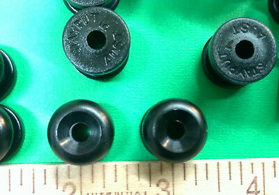 10 BLACK Stayput Knobs for Canvas Boat Covers Bungee Shock Cord Loops Tie Down