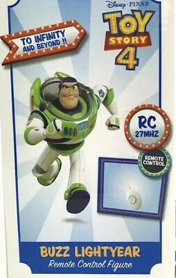 DISNEY Toy Story Buzz Lightyear Remote Control WALKING With Retractable Wings 5