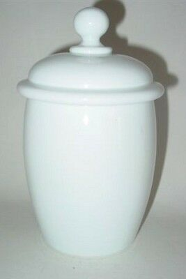 Apothekengefäß. Böhmen, Anfang 19.Jh. Milchglas mit Abriß. 3