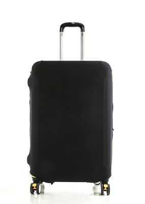 "Anti Scratches Elastic Luggage Protector Suitcase Cover 20"" 24 28 inch Black 3"