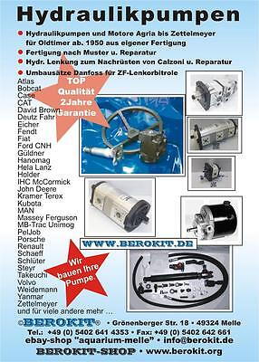 Case 1840 1845 1850 1529UL Unilader  Hydraulikpumpe Sauer A31.5L34047 87413847
