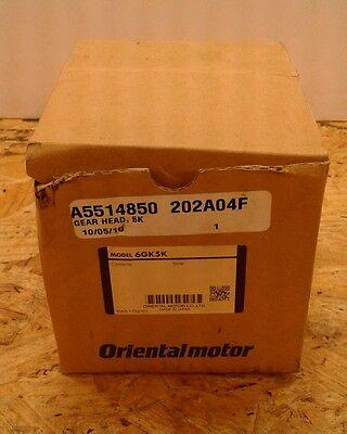 NEW IN BOX 6GK5K ORIENTAL MOTOR 6GK5K