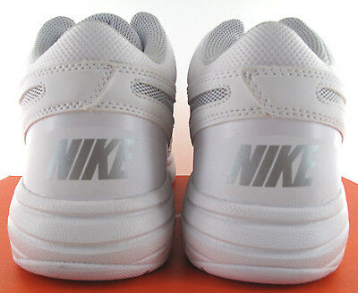 64a8d96ed2907 ... Nike The Overplay VIII Mens White Leather Basketball Shoes - NWD -  Medium 6