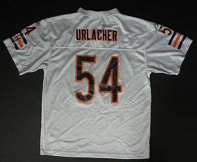 ... 3 of 12 Brian Urlacher 54 Chicago Bears Football Jersey White Sewn  Youth XL 18 20 NFL 4 50dc89c35