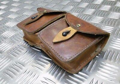 Ammo Czech Republic SCORPIO Genuine Vintage Leather Military pouch