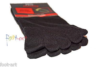 Zehensocken Baumwolle Zehenstrumpf fünf Zehen Socken Ringel bunte Zehen 1-10 P