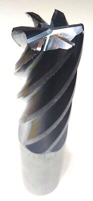 "ONE NEW KENNAMETAL HP CARBIDE ENDMILL 1/""X1/""X1.1//8/""-3.1//4/""X5.1//2/"" 6F .030R"