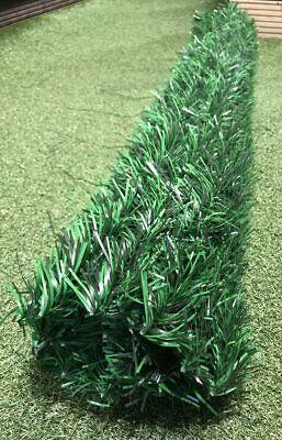 Best Artificial Conifer Leaf Screening Hedging Wall Garden Fence Landscaping 5