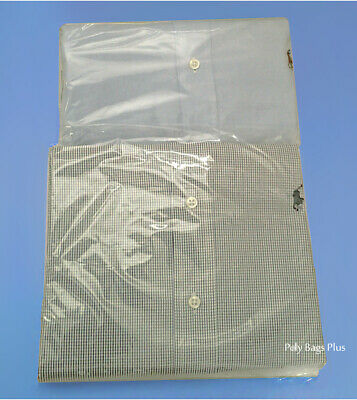 Clear Assorted Sizes Poly Plastic 1-Mil Packing Bags Open Top Baggies 8