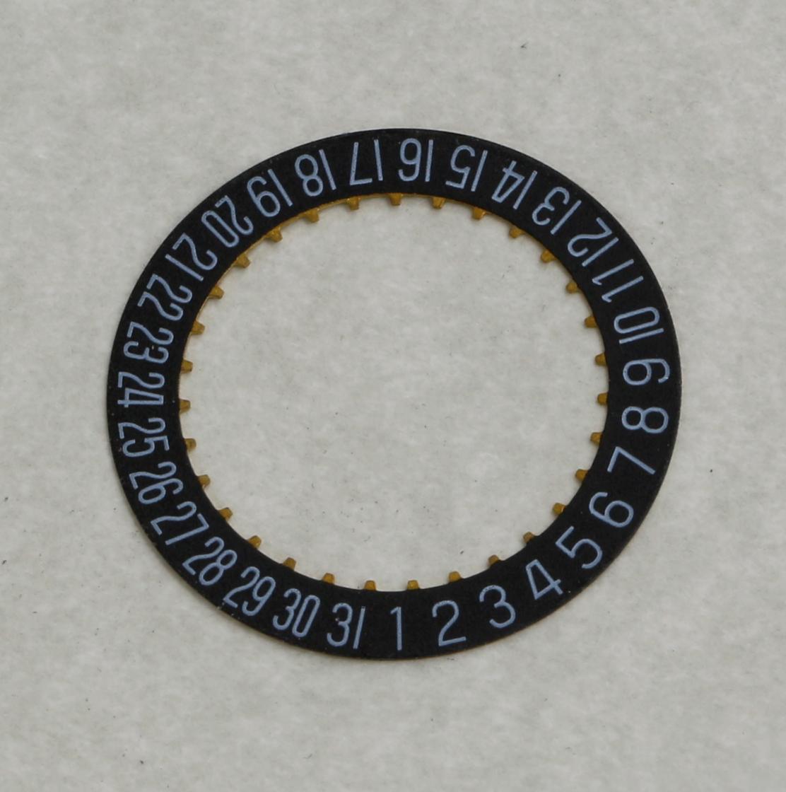 Datumsanzeige Datum Felgen Scheibe 2557 H3//H6 für ETA 2804-2 2824-2 2892A2