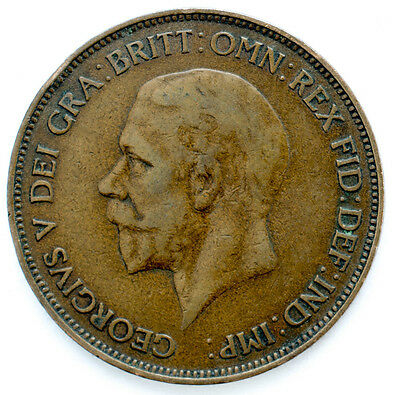 1911 To 1936 George V Penny / Pennies Choice Of Year / Date 2
