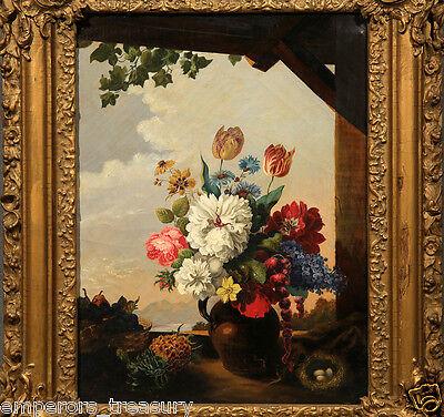 Early 20th Century European Flower Still Life Oil Painting 2