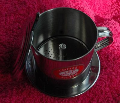 New Genuine Vietnamese Asian One Cup Coffee Pot Filter Maker V4 Expresso 2