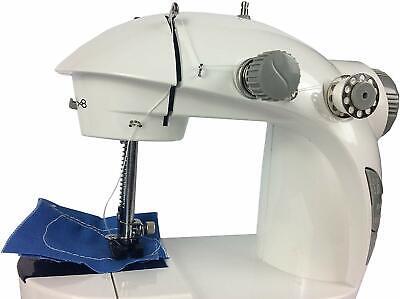 Maquina de coser portátil corriente 220w con pedal costurera costura 4 en 1 6