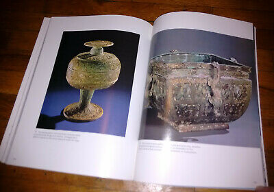 """TREASURES FROM THE BRONZE AGE OF CHINA"" Huge Exhibition Catalog. Many Photos! 4"