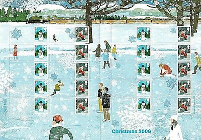 20 CHRISTMAS STAMPS - 10 x 1st CLASS + 10 x 2nd CLASS STAMPS - NEW & UNUSED 4