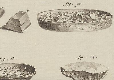 Chemiker Chemie Orig Kupferstich 1770 Apotheker Kristalle Versuche Chemikalien 4