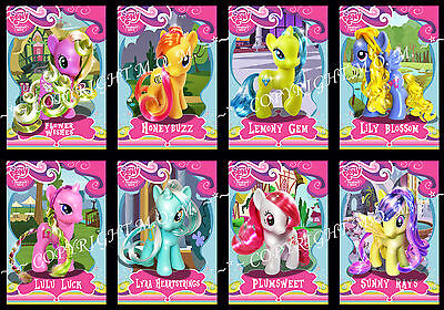 MY LITTLE PONY G4 Custom Brushable Collector's Cards *** PICK 8 *** (out of  56)