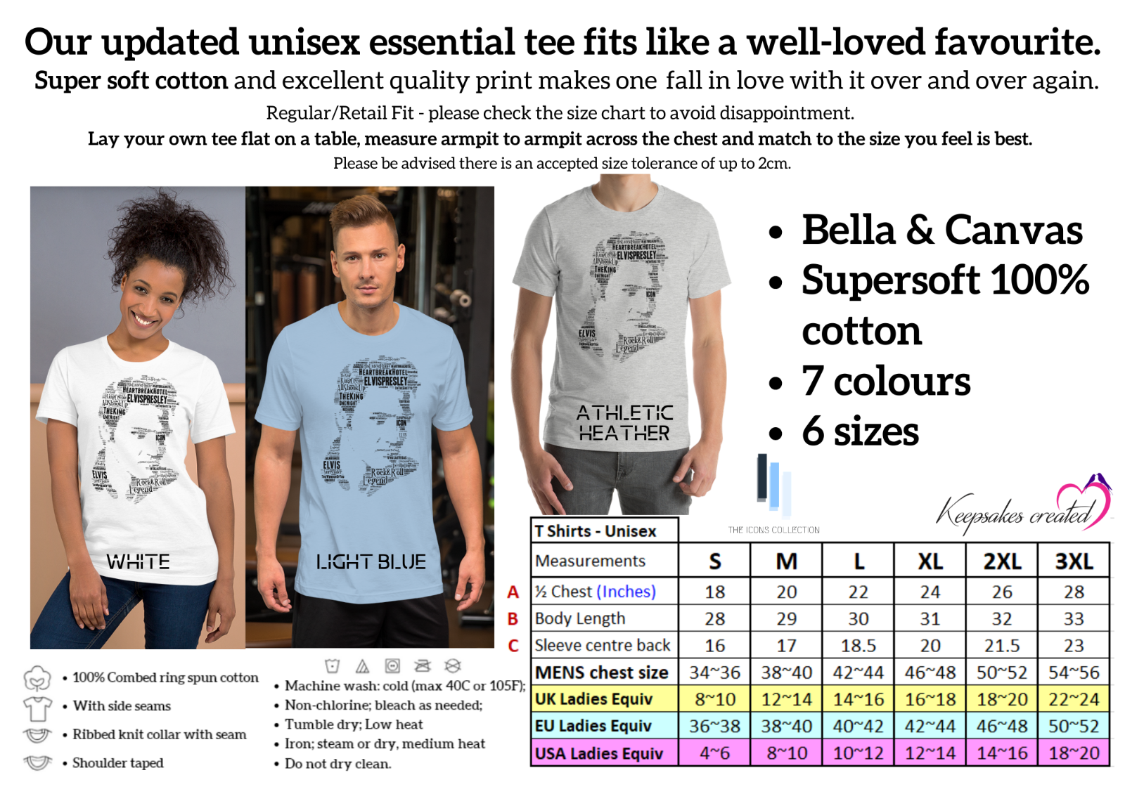 Elvis T Shirt Elvis Presley Mugshot King Rock N Roll  Cool Gift Tee 222