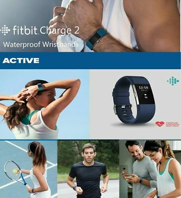3 Pack Replacement Wristband For Fitbit Charge 2 Band Silicone Fitness Large L 9