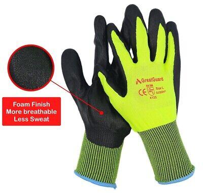 Work Gloves Foam Nitrile Coated Safety General Purpose Garden 12 Pairs 2