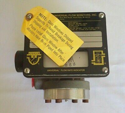 Universal 93871 Flow Monitor -70 Ltrs / Minute Lh-Zzmzb70Lm-6L-220C 9-A1Xu-Tg 2