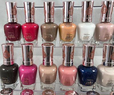 20 Sally Hansen Color Therapy W Argan Oil Formula Nail