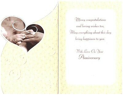 To a special brother & sister in law on your wedding anniversary