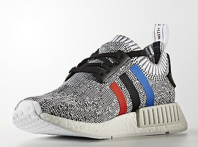 new product 7c04a 91d54 ADIDAS NMD R1 PK Primeknit Tri Color White Size 10.5. BB2888 Ultra boost  yeezy
