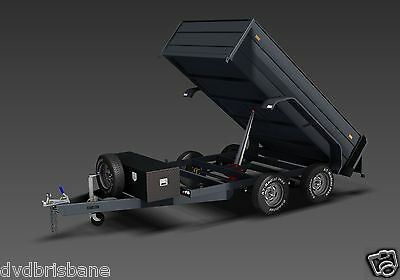 Trailer Plans - 3400kg HYDRAULIC TIPPING TRAILER PLANS - 10x6ft- PLANS ON CD-ROM 3