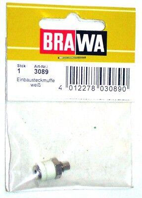 Brawa 3080–Accessorio Elettrico Boccola Da Pannello-Colori Assortiti 9