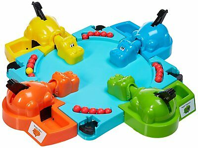Frog Frenzy Board Game Children Kids Family Toy Xmas Gift Hungry Frogs Hippos 6