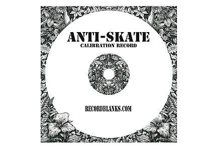 Anti-Skate Blank Vinyl Calibration Record 3