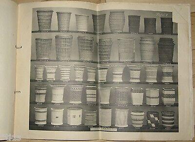 Carl Zeidler Korbwaren-Industrie Sonnefeld Katalog Musterbuch um 1935 Körbe 3
