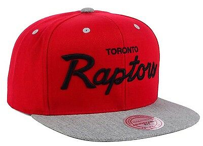 first rate cf3f0 6ab37 ... low cost 2 of 4 toronto raptors mitchell ness special script 2 tone  snapback hwc hat