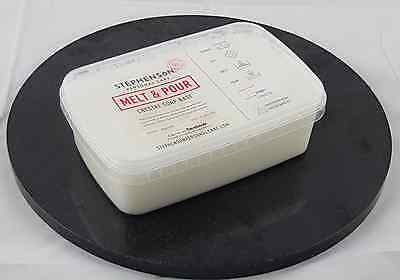 Shea Butter 1kg Melt and Pour Soap Base - SLS Free - Soap Making 2