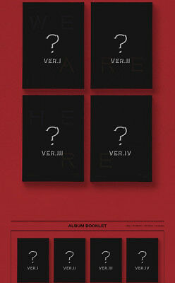 US SHIPPING Monsta X[Take.2 We Are Here]2nd Album Random CD+Book+ETC 9